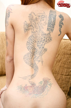 t nuy tattoo 02 Ladyboy Nuys Ink On Ladyboy Ladyboy!