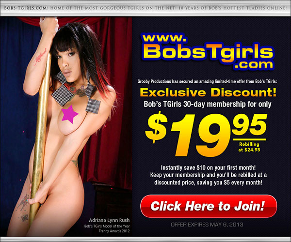bobs tgirls discount Sexy Ladyboys Are Waiting For You At Bobs Tgirls!