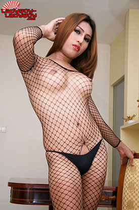 t ladyboy emmy ladyboy ladyboy 02 Frisky In Fishnets With Ladyboy Emmy On Ladyboy Ladyboy!